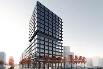 architekturjournal wettbewerbe campustower baufeld 80. Black Bedroom Furniture Sets. Home Design Ideas