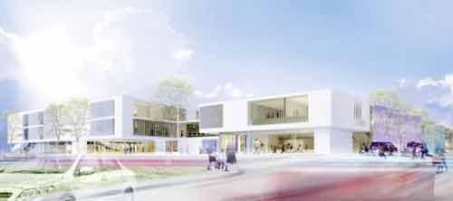 Architekturjournal wettbewerbe evangelischer for Design schule wien